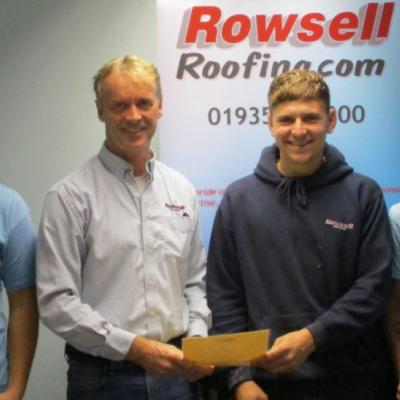 Roofing Apprenticeships completed!