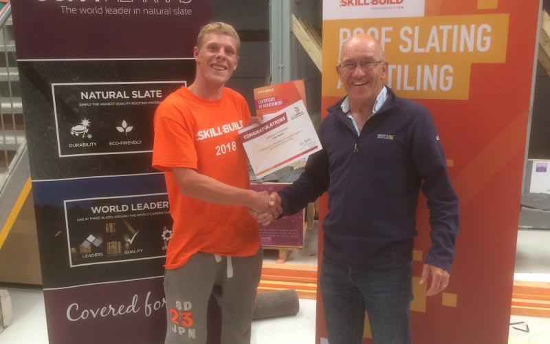 2nd place in SkillBuild Regional Qualifiers!